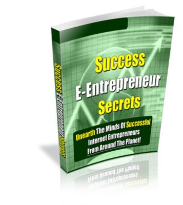 Product picture Successful E-Entrepreneur Secrets